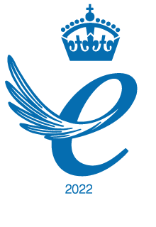 Queen's Award for Enterprise 2017 Emblem- 12mm