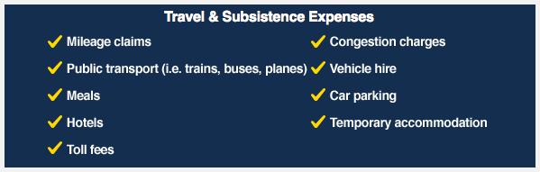 Travel and Subsistence Expenses